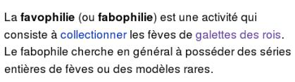 favophilie